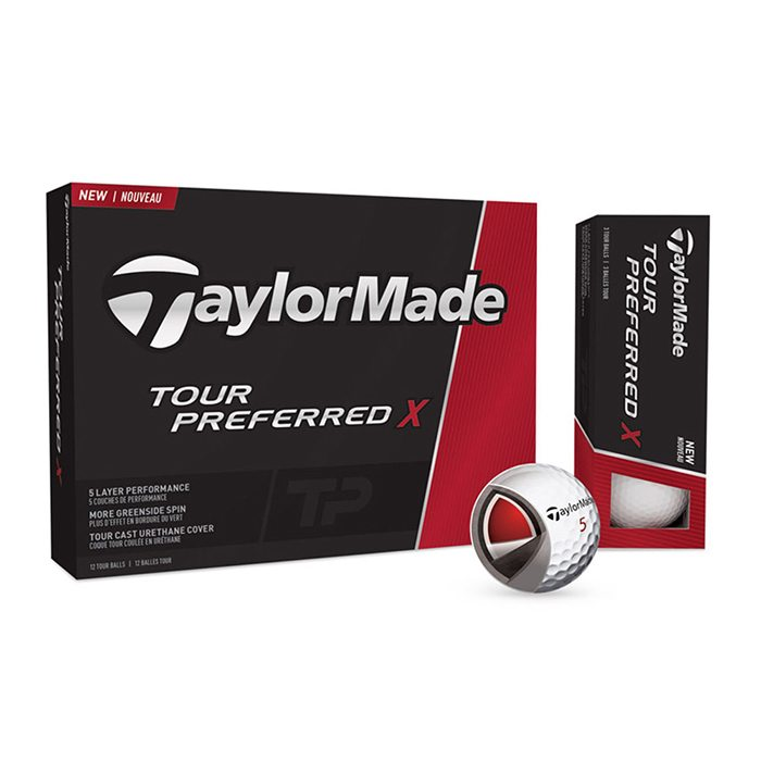 TaylorMade Tour Preferred TPX Golf Balls