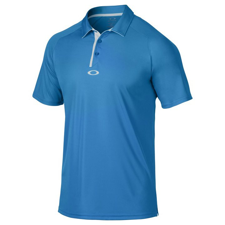Oakley Elemental 2.0 Golf Polo Shirt 2015 - Brilliant Blue