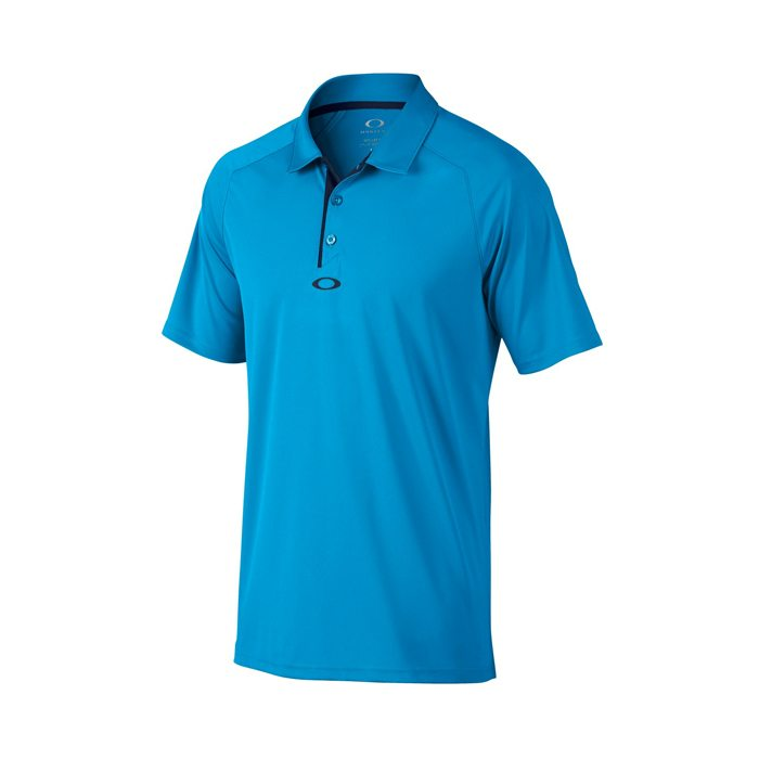Oakley Elemental 2.0 Golf Polo Shirt 2016 - Pacific Blue