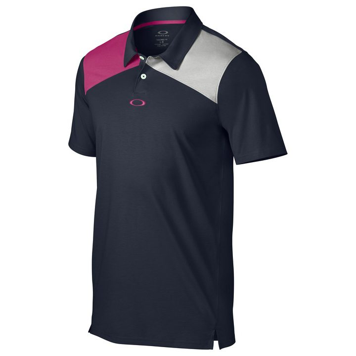 Oakley Davis Golf Polo Shirt - Graphite