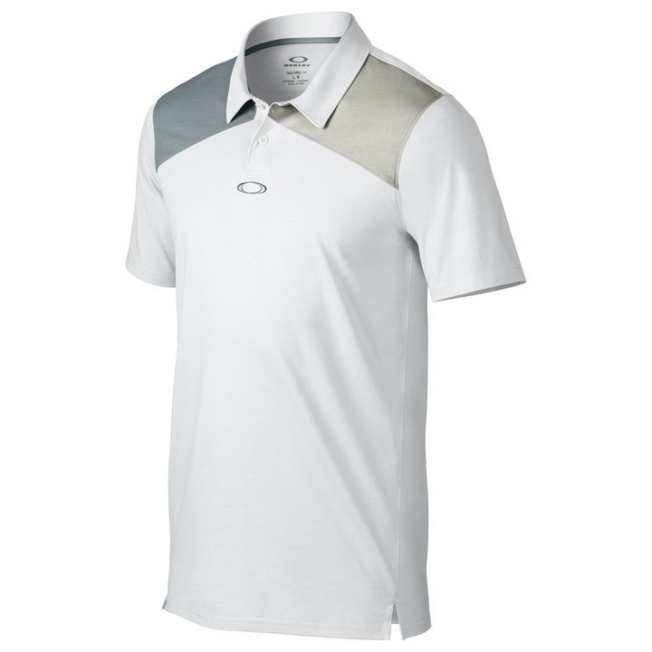 Oakley Davis Golf Polo Shirt - White
