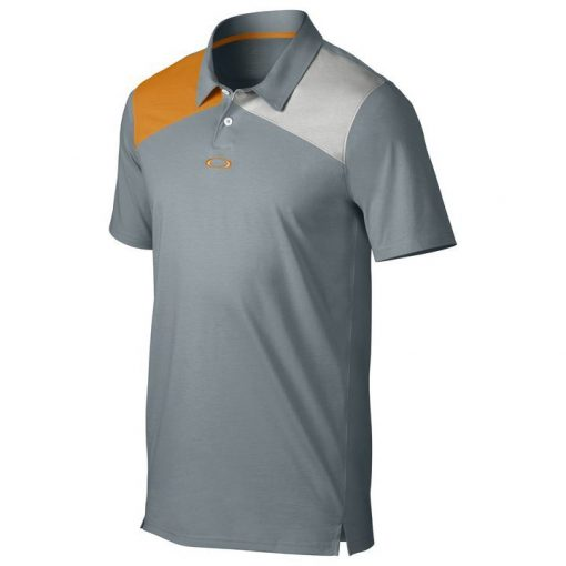 Oakley Davis Golf Polo Shirt - Lead