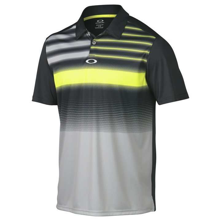 Oakley Russell Golf Polo Shirt - Graphite