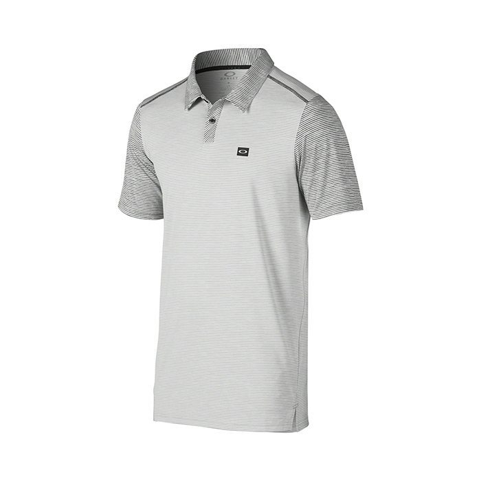 Oakley Collins Golf Polo Shirt - Stone Grey