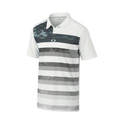 Oakley Lowers Golf Polo Shirt - White