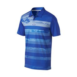 Oakley Lowers Golf Polo Shirt - Sapphire