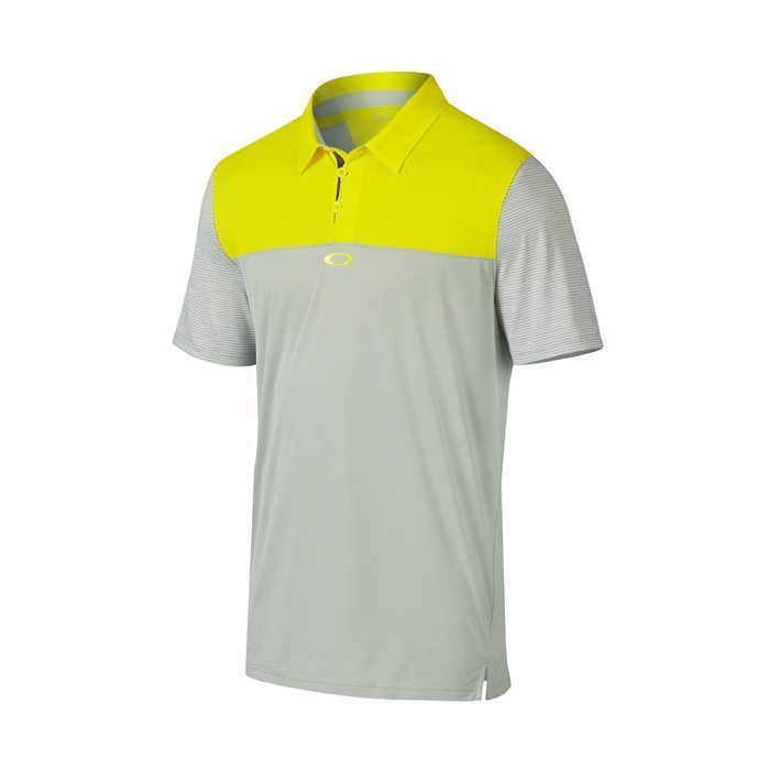 Oakley Alignment Golf Polo Shirt - Blazing Yellow