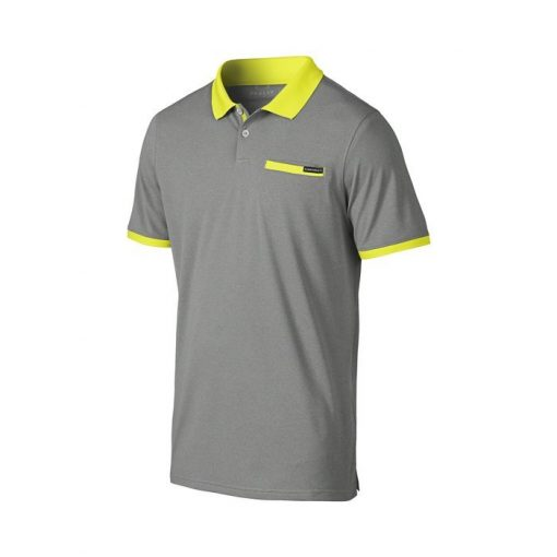 Oakley Myers Golf Polo Shirt - Heather/Grey