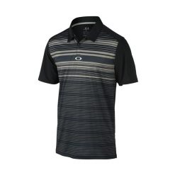 Oakley Legacy Golf Polo Shirt - Jet Black