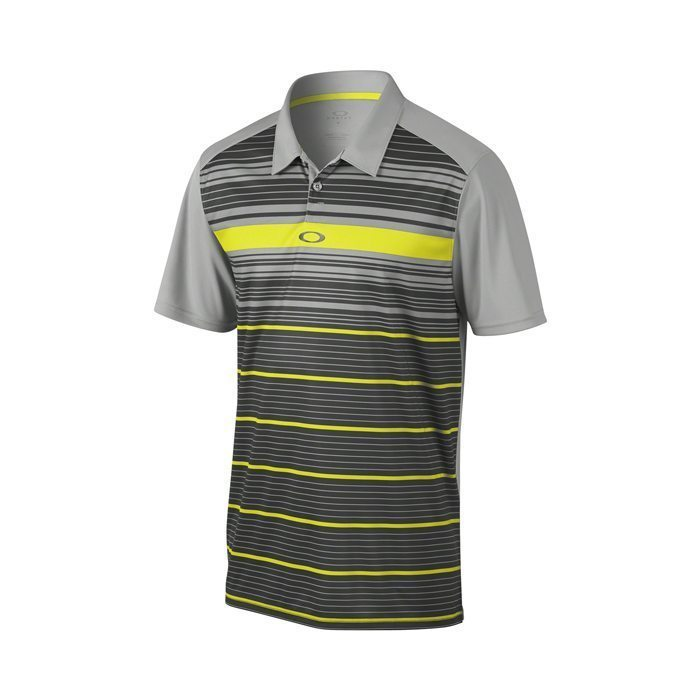Oakley Legacy Golf Polo Shirt - Stone Grey