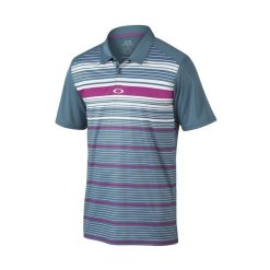 Oakley Legacy Golf Polo Shirt - Blue Mirage