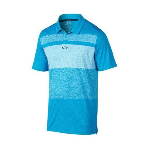 Oakley Bristol Golf Polo Shirt - Pacific Blue
