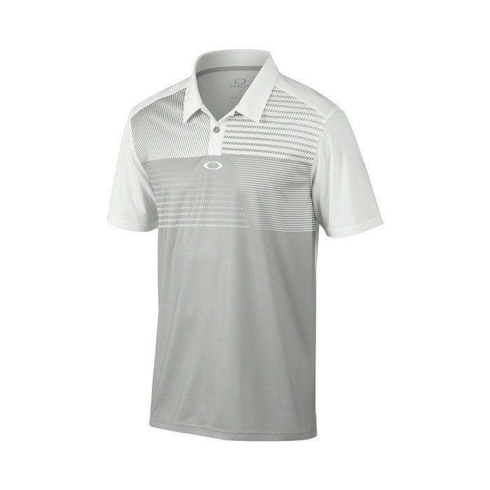 Oakley Sunrise Golf Polo Shirt - Stone Grey