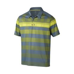 Oakley Daredevil Golf Polo Shirt - Blue Mirage