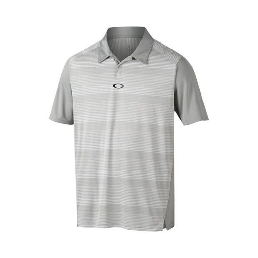 Oakley Madcap Golf Polo Shirt - Stone Grey