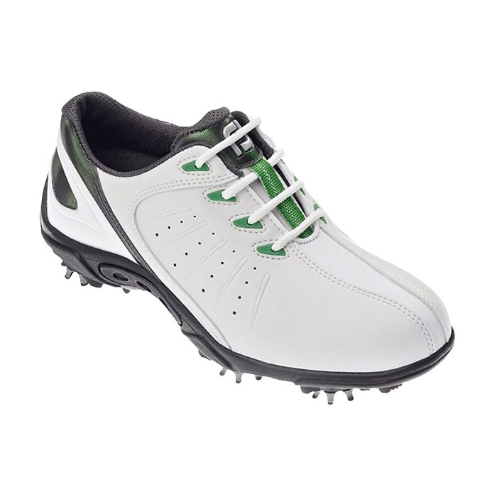Footjoy Junior Golf Shoes - White/Silver