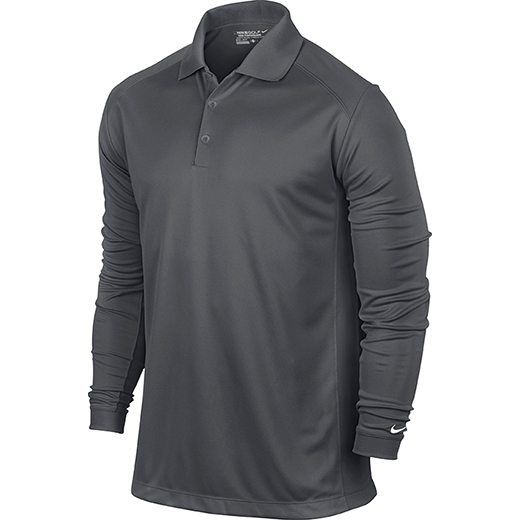 Nike UV Victory Longsleeve Polo - Dark Grey