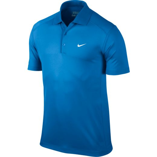 Nike Victory Men's Golf Polo Shirt - Photo Blue/White
