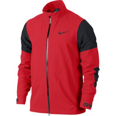 450686d8a3f7 Nike Storm-FIT Hyperadapt Men s Golf Jacket - Action Red