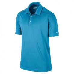Nike Key Iconic 2.0 Men's Golf Polo Shirt - Blue/Night/Silver