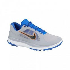 Nike Golf FI Impact Shoes - Wolf Grey/Black/Hyper Cobalt/Hyper Crimson