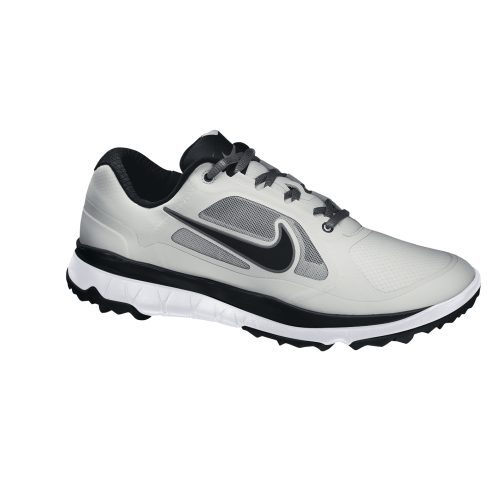 Nike Golf FI Impact Shoes - Light Grey/Black