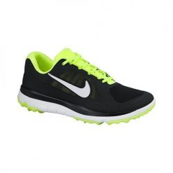 Nike Golf FI Impact Shoes - Black/White/Volt/Metallic Silver