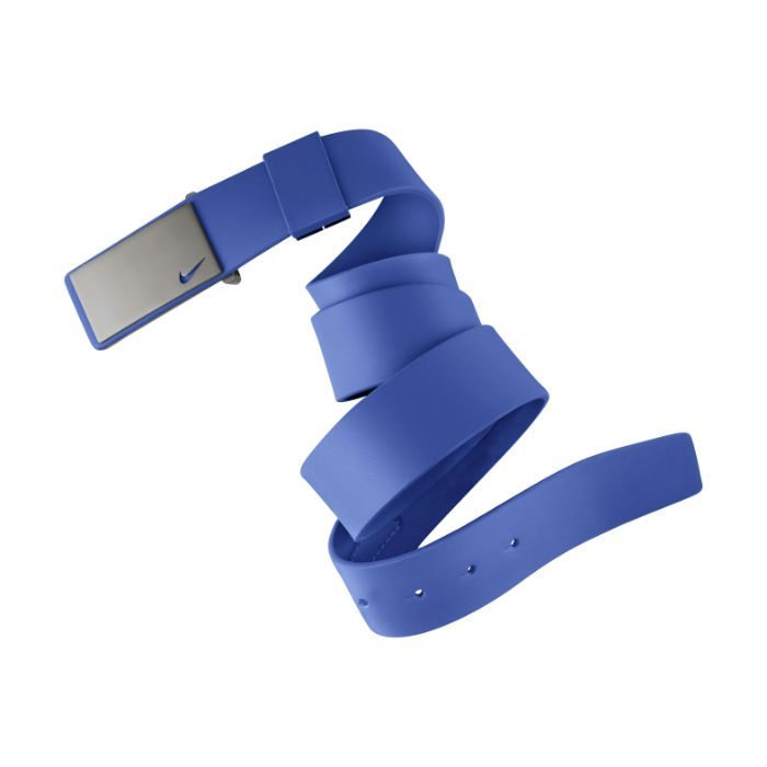 Nike Sleek Plaque Golf Belt - Lyon Blue
