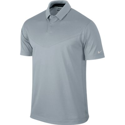 Nike Golf Innovation Vent 2.0 Polo Shirt - LT Magnet Grey/Metallic Silver