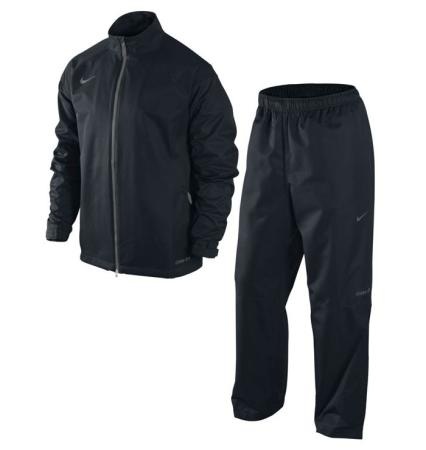 Nike Golf Mens New Storm-Fit Packable Rain Suit - Black