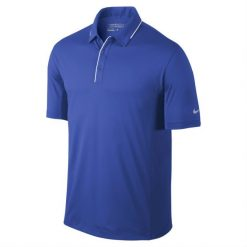 Nike Golf Tech Tipped Polo - Lyon Blue/White/Wolf Grey