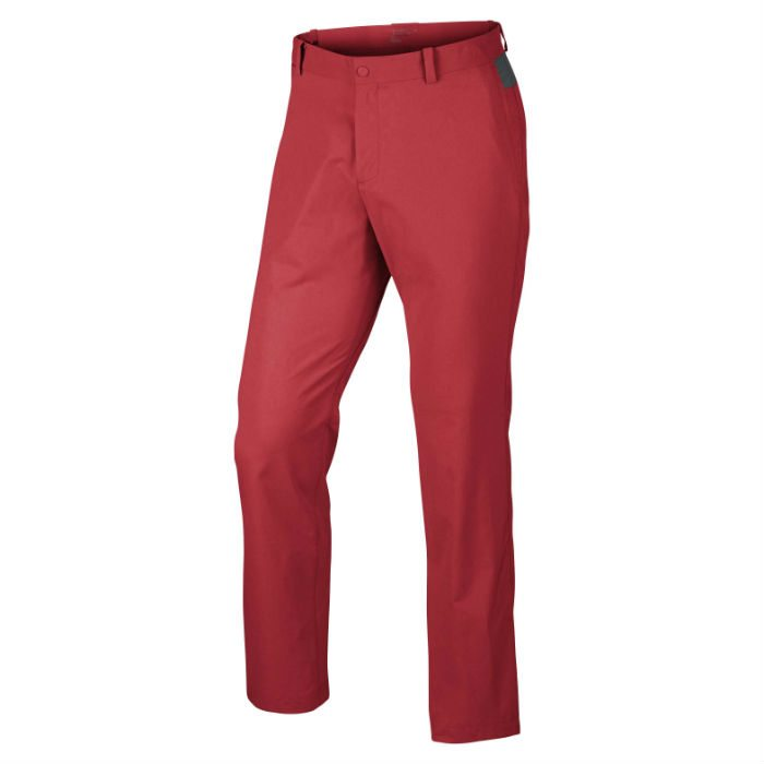 Nike Modern Men's Golf Trousers - Daring Red/Anthracite