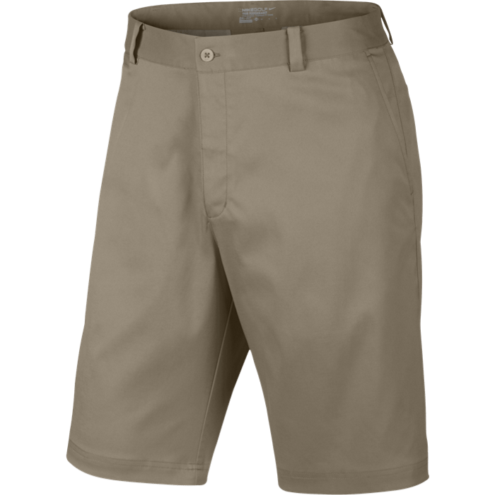 Nike Flat Front Men's Golf Shorts - Khaki