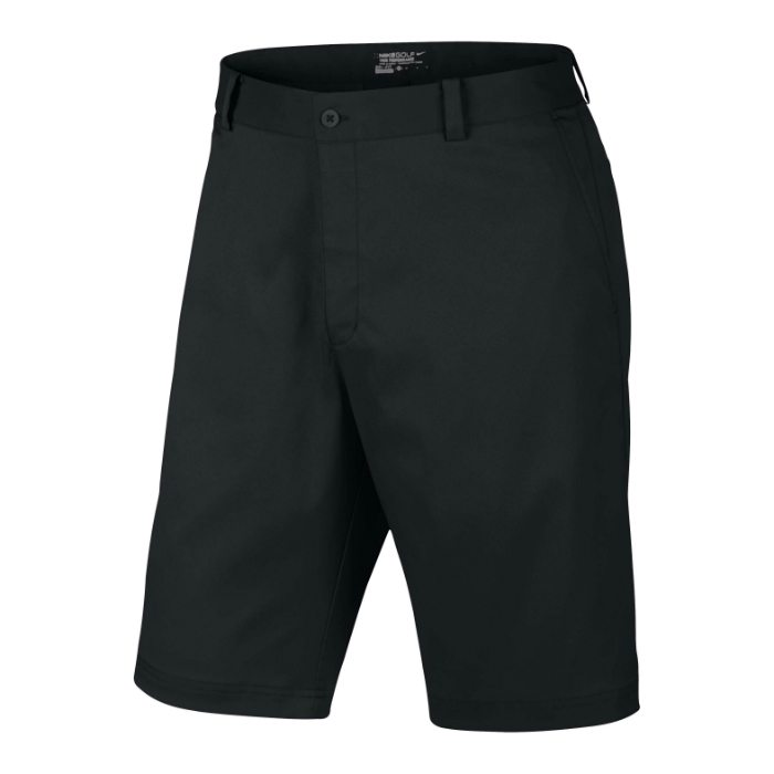 Nike Flat Front Men's Golf Shorts - Black