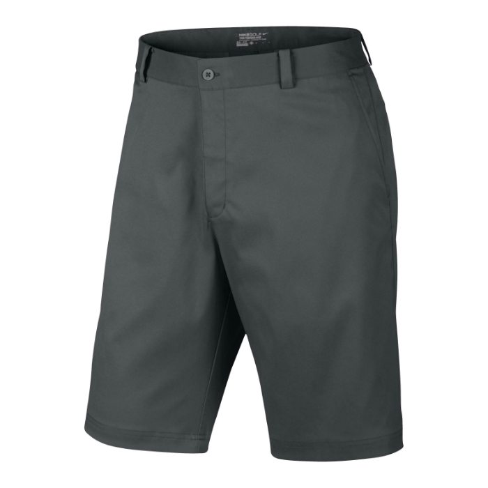Nike Flat Front Men's Golf Shorts - Dark Grey