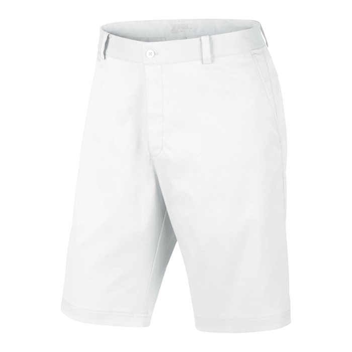 Nike Flat Front Men's Golf Shorts - White
