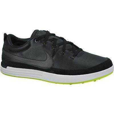 Nike Lunar Waverly Golf Shoes - Black/Anthracite/Pure Platinum/Volt