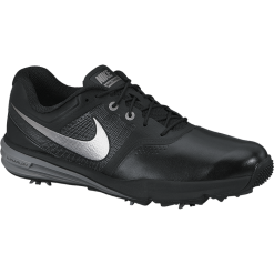 Nike Golf Lunar Command Shoes - Black/Metallic Cool Grey/Cool Grey