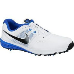Nike Golf Lunar Command Shoes - White/Black/Lyon Blue