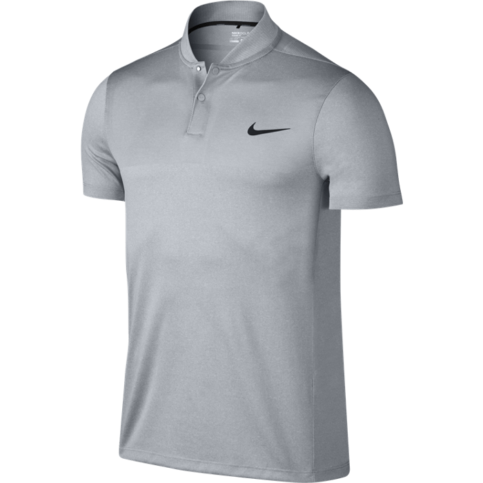 Nike Golf Momentum Fly Blade Block Polo Shirt - Wolf Grey/Reflective Black