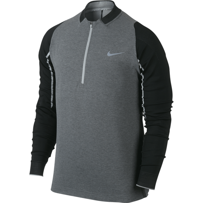 Nike Engineered 1/2 Zip Top - Black/Wolf Grey/Reflective Silver