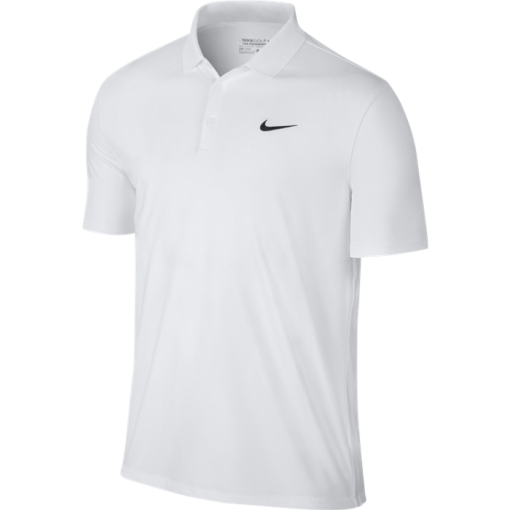 Nike Victory Solid LC Polo - White/Black
