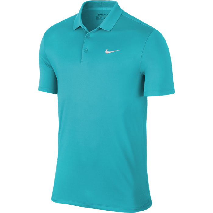 Nike Victory Solid LC Polo - Omega Blue/White
