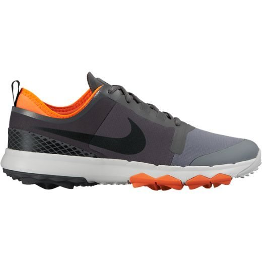 Nike Mens FI Impact 2 Golf Shoes - Dark Grey/Black/Cool Grey/Pure Platinum