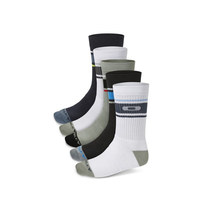 Oakley Performance Basic Crew Sock 5 Pack 2015