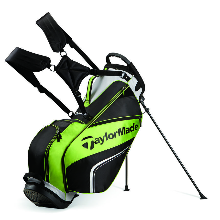TaylorMade Pro Stand Bag 4.0 - Black/Grey/Green