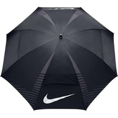 Nike 62Inch Windsheer Lite Umbrella - Black/White/Dark Grey