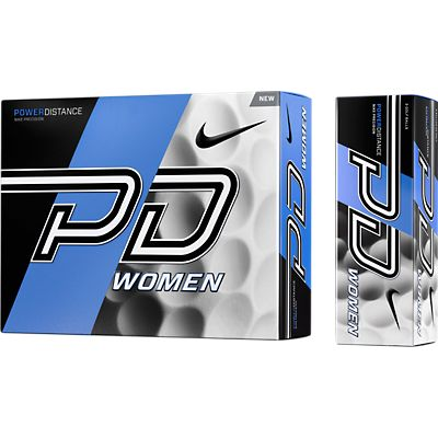 Nike PD9 Power Distance Womens Golf Ball - White