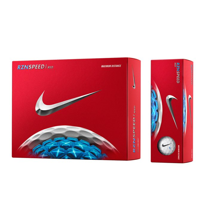 Nike Golf RZN Speed Red Golf Balls