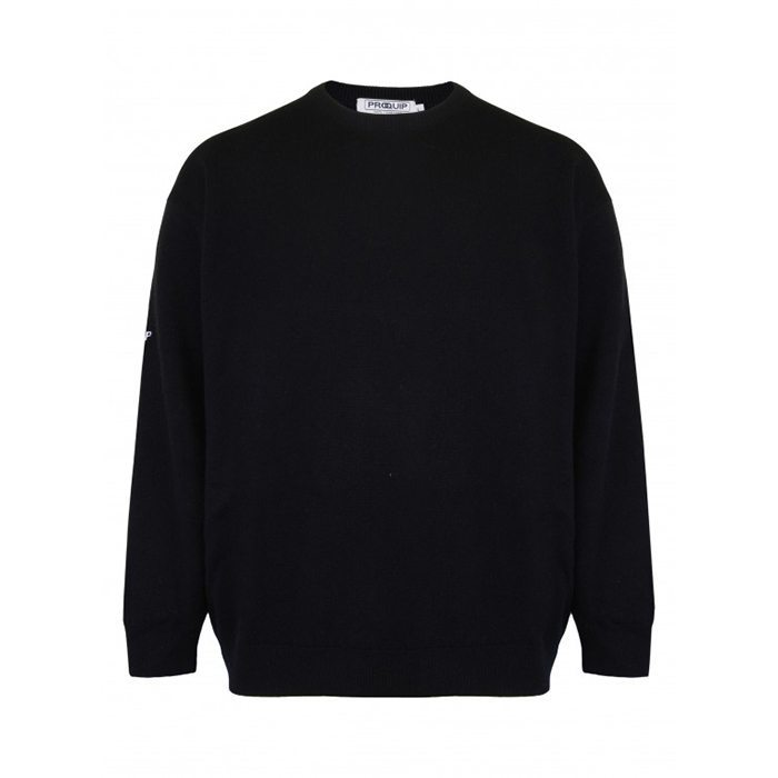 ProQuip Lambswool Sweater - Black